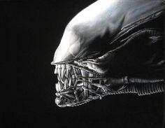 Alien. Bruce White @velvetgeek (mine!)