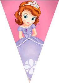 Resultado de imagen para tarjetas para imprimir de felicitaciones de la princesita sofia