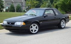 1988 Ford Mustang, I had a police interceptor sedan 13.5 in the 1/4 mile and a 1987 coupe.
