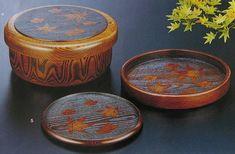 Korean wood crafts.