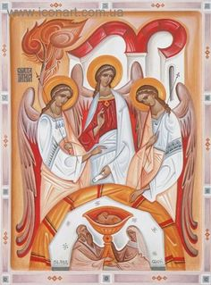 Holy Trinity (contemporary) by Kost' Markovych