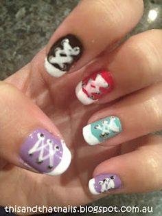cute.sneaker.nails