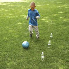 Bottle-Bash Soccer
