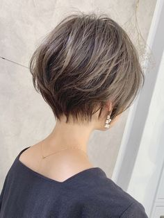 Recommended for people in their thirties and thirties ☆ Clever cliff x champa light: | Hair catalog of mag ginza | Hot pepper beauty Asian Short Hair, Short Thin Hair, Short Hairstyles For Thick Hair, Short Hair With Layers, Short Bob Haircuts, Short Hair Cuts For Women, Girl Short Hair, Cool Hairstyles, Short Hair Syles
