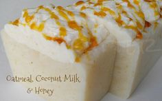 Oil & Butter: Hot Process Soap - Oatmeal, Coconut Milk and Honey