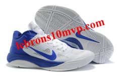 Nike Zoom Hyperfuse Low 2010 Shoes White/Blue