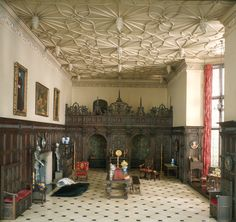 Miniature English Great Room of the Late Tudor Period, 1550-1603