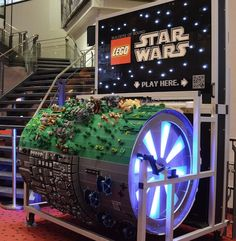 LEGO Organ Made Of 'Star Wars' Pieces, Plays 'Star Wars' Theme Song