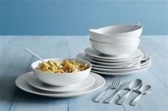 12 Piece Bianco Dinner Set from Next