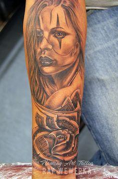 Money Rose Tattoo | Flickr - Photo Sharing!