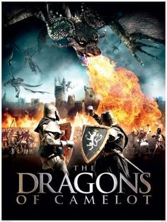 The Dragons of Camelot (2014)  **  Budget Arthurian fantasy, with dragons. OK.