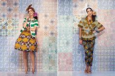 Culture-Clashing Lookbooks : Stella Jean Spring 2014
