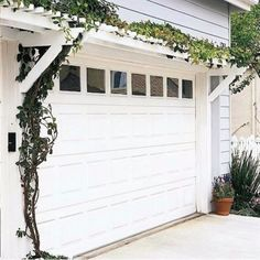 Creative Ways to Increase Curb Appeal on A Budget - Build Pergola Over Garage - Cheap and Easy Ideas for Upgrading Your Front Porch, Landscaping, Driveways, Garage Doors, Brick and Home Exteriors. Add Window Boxes, House Numbers, Mailboxes and Yard Makeovers http://diyjoy.com/diy-curb-appeal-ideas #MailboxLandscaping