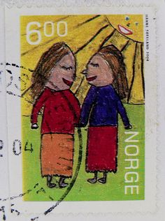 stamp Norge 6.00
