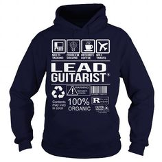 Awesome Tee For Lead Guitarist T Shirts, Hoodies. Get it now ==► https://www.sunfrog.com/LifeStyle/Awesome-Tee-For-Lead-Guitarist-Navy-Blue-Hoodie.html?41382