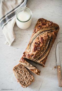 vegan baking & desserts к Banana Bread French Toast, Vegan Banana Bread, Banana Bread Recipes, Food Photography Tips, Healthy Cake, Vegan Baking, No Bake Desserts, Food Inspiration, Love Food