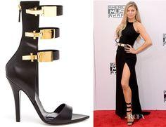 Fergie Versus Triple Clasp Sandals