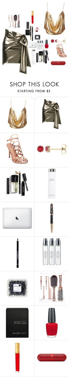 """up  class  party"" by inspiredbyart345 ❤ liked on Polyvore featuring Yves Saint Laurent, Madden Girl, Bobbi Brown Cosmetics, Calvin Klein, Parker, Givenchy, Byredo, Ex Voto Paris, OPI and Estée Lauder"