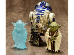 1/10 Scale Dagobah Yoda & R2-D2 ArtFX+ Set - Star Wars Model Kits 1/10 Scale Snap Together Figures