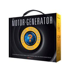 Dowling Magnets Science Set Motor/Generator Learning Tool