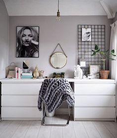 14 Ikea hacks to transform your bedroom - . - 14 Ikea hacks to transform your bedroom # transform – - Ikea Hack Bedroom, Bedroom Hacks, Diy Bedroom Decor, Bedroom Furniture, Home Decor, Bedroom Ideas, Furniture Repair, Furniture Nyc, Furniture Online
