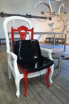 Custom made chair, design Karen Ryan