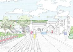 London to Follow in New Yorks Footsteps With Camden High Line