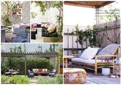 Inspiração: cantinhos para relaxar #varanda #relax #outdoor
