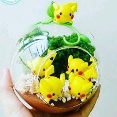 Photo from @pokemondweeb  This amazing terrarium is by :Boo Handmade on Etsy  cuteness overload ! !! . Squeeee!!! . . . #pokemon  #tumblr  #cute  #love  #amazing  #adorable  #pikachu #etsy #anime #crafts #handmade #diy #craft #homemade #artsandcrafts #fun #love #kawaii #anime #pokémon #nintendo #pika #ash #japan #misty #otaku #brock #pichu #nerd #pokeball