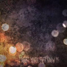 Stream @DavenportGrimes' 'I Doubt You'll Ever Know Me' EP
