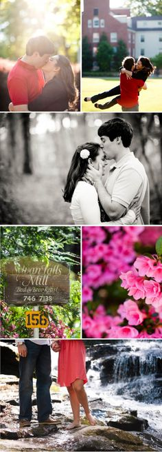 Atlanta Engagement Session by Tessa Marie Photography