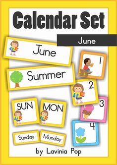 Great for counting, number order, patterning, and of course, calendar time. Calendar Time, Calendar Ideas, Teaching Tools, Teaching Ideas, Calendar Numbers, Elementary Teaching, Thing 1, Teacher Notes, School