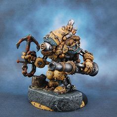 Here's a ridiculously well painted Mariner.