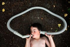 Autism portrayed in photography by the father of an autistic boy.