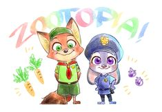 ZOOTOPIA LOG ① by .はるすけ on pixiv.
