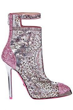 Cavalli Shoes   Found on weddbook.com