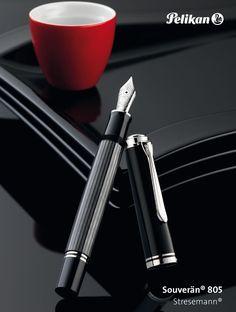 Pelikan 805 Stresemann fountain pen http://www.penchalet.com/fine_pens/fountain_pens/pelika_souveran_805_fountain_pen.html