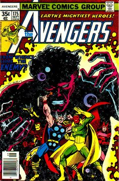 My favorite Avengers cover, bar none. This story actually took place over like, a year of issues, and had lots of twists and turns. Excellent.