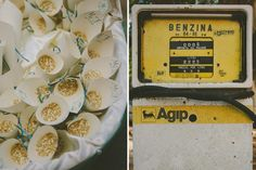 THE RED TUFT - Wedding Photography - Francesca + Matteo #vintage #love #story #onceuponatime #rise #gasoline #yellow