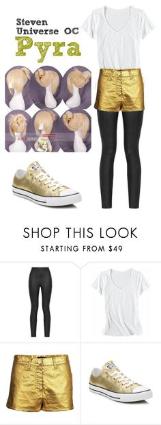 """""""Steven Universe OC"""" by thesteampunkqueen ❤ liked on Polyvore featuring Armani Jeans, Horny Toad, Chanel, Converse and Coshome"""