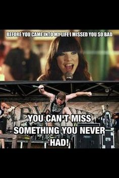 XD I have always wondered about Carly Rae Jepsen's or whatever her name is and the lyrics for that song.