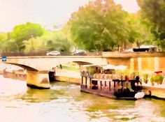 Share your beautiful Donuted images on PhotoDonut fan page! #painting #Paris #art