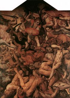 The Fall of the Rebellious Angels, Frans Floris. Flemish  (1516-1570)