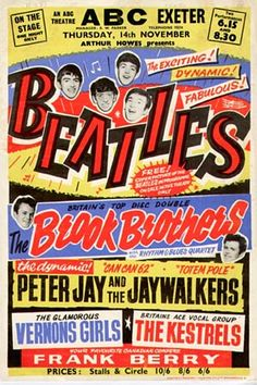 The Beatles 1963 & 1964.  The ABC was the venue for many pop acts during the 1950s & 1960s. One of the best remembered is the three shows given by the Beatles at the height of Beatlemania.