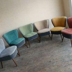 Industrial Loft, Restaurant Design, Bunt, Upholstery, Dining Chairs, Mid Century, Sofa, Vintage, Diy