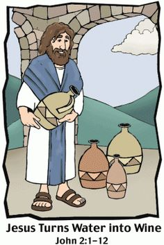 Jesus - First Miracle - Cana - Water into Wine