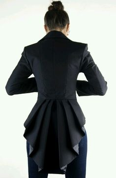 I love the vintage vibe of this structured jacket