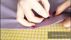 Ράψε εύκολα μια καλοκαιρινή μπλούζα στα μέτρα σου! Blouse Patterns, Sewing Patterns, Sewing Tutorials, Sewing Projects, Sewing Blouses, Sewing Techniques, Crochet Crafts, Diy Fashion, Youtube