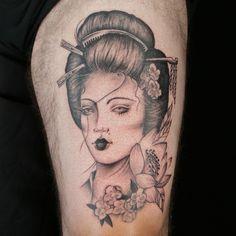 Tattoo by Koko Tatts Ink Master Seasons, Masters, Rocks, Portrait, Tattoos, Master's Degree, Tatuajes, Headshot Photography, Tattoo
