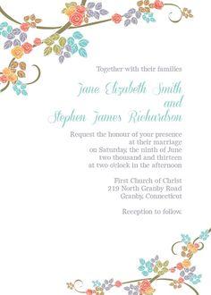 Fancy Invitation Template Free